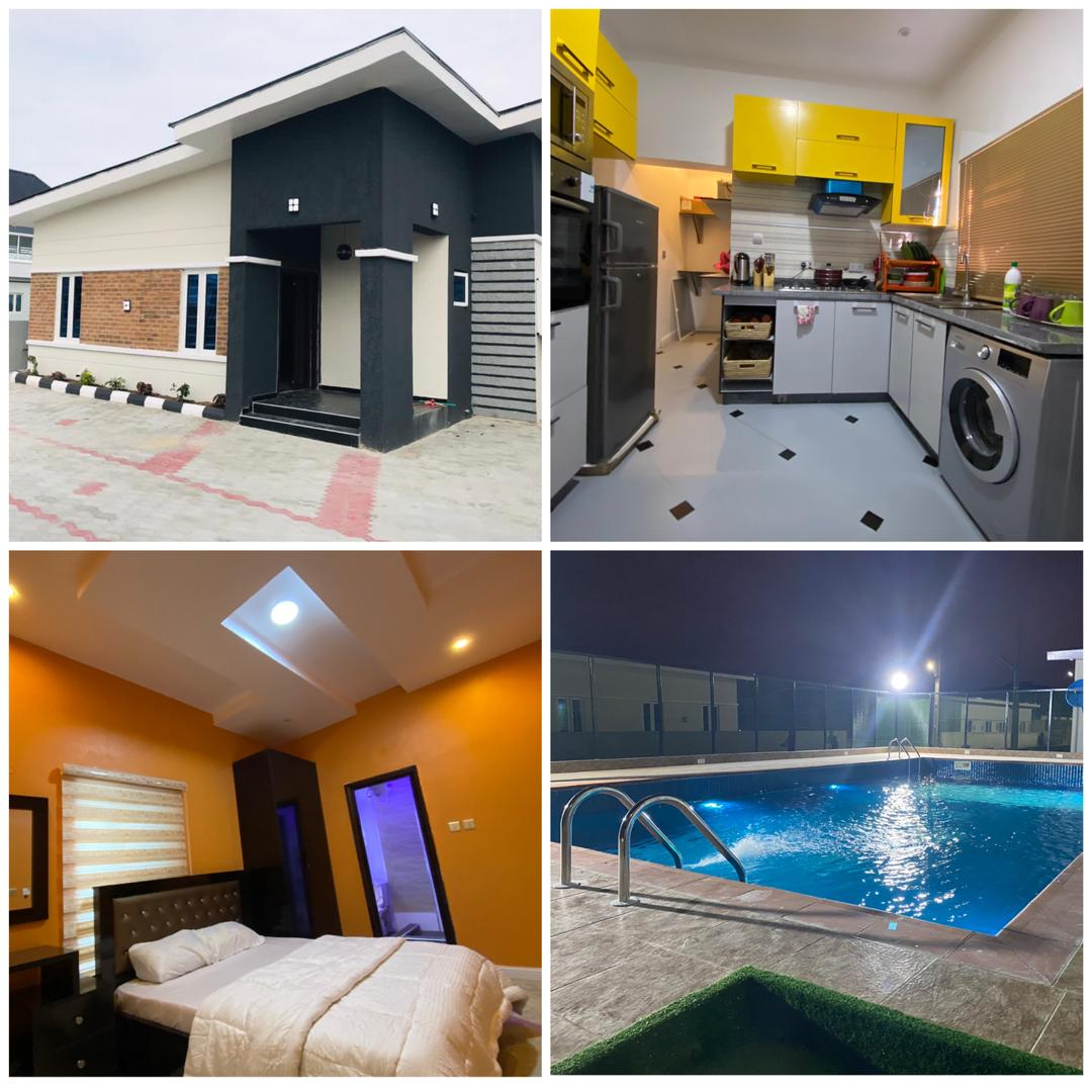 A beautiful villa available for short-let at Shapati near Dangote refinery