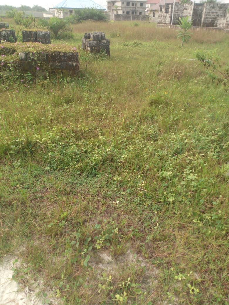 55 plots of land at Abijo, facing Lekki - Epe expressway for sale