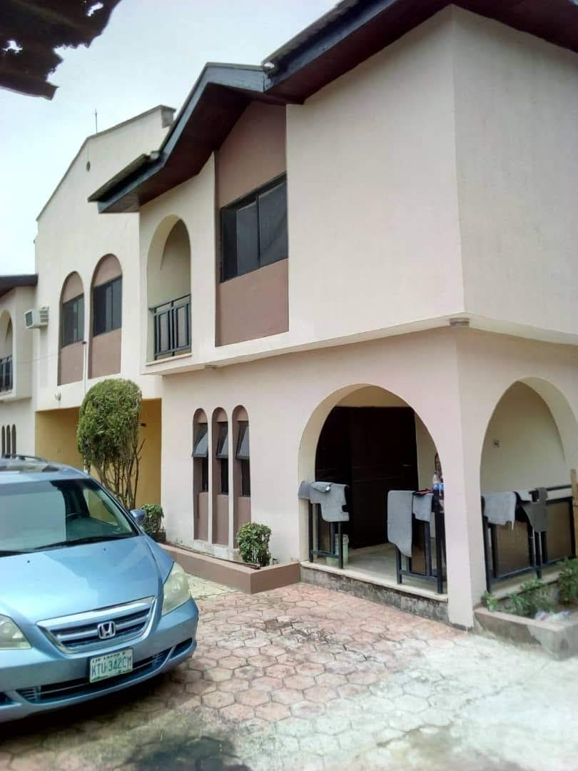7 bedrooms detached duplex for sale at Green Land Estate, opposite Diamond Estate Egbeda