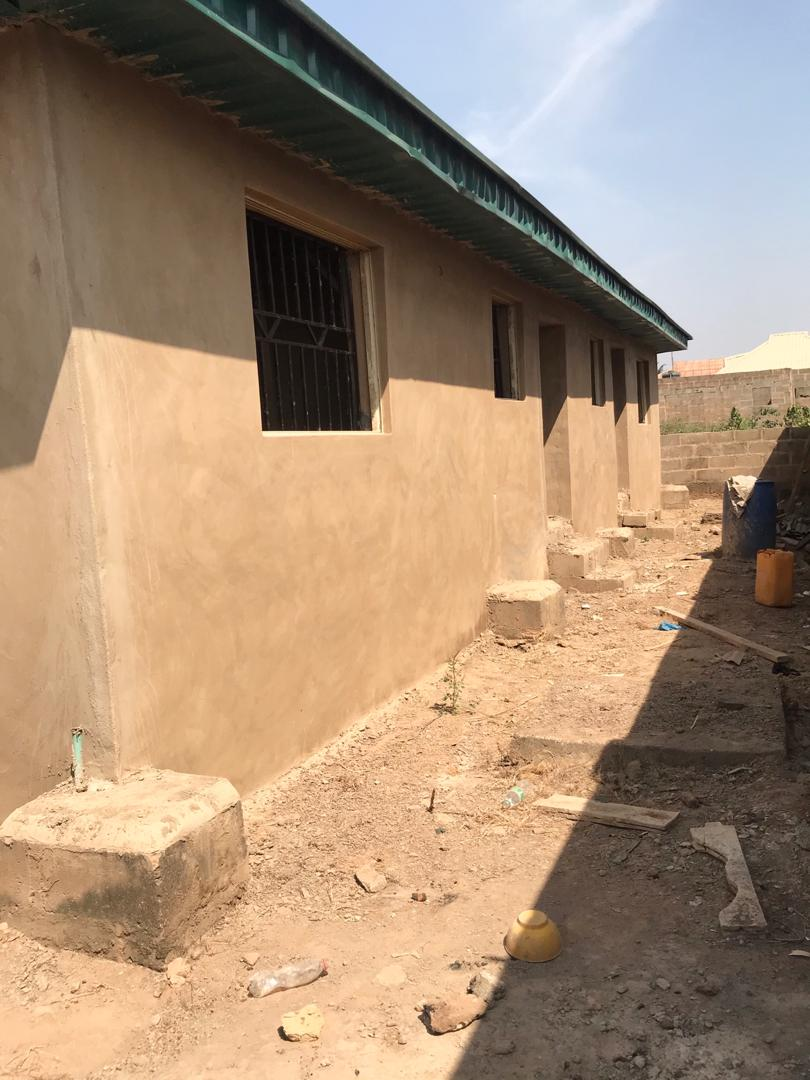 Two units of Two bedroom flat on a half plot of land at Apata, Wire and Cable, Ibadan