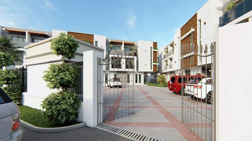 Luxury 3 Bedroom Terraced Duplex at Ikate Elegushi, Lekki, Lagos