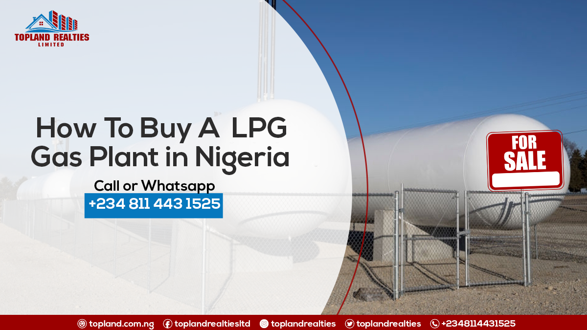 How To Buy LPG Gas Plant in Nigeria