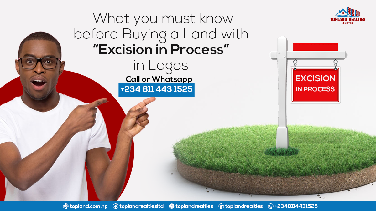 "What you must know before Buying a Land with ""Excision in Process"" in Lagos"