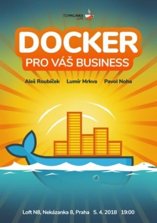 TopMonks Caffè - Docker pro váš Business