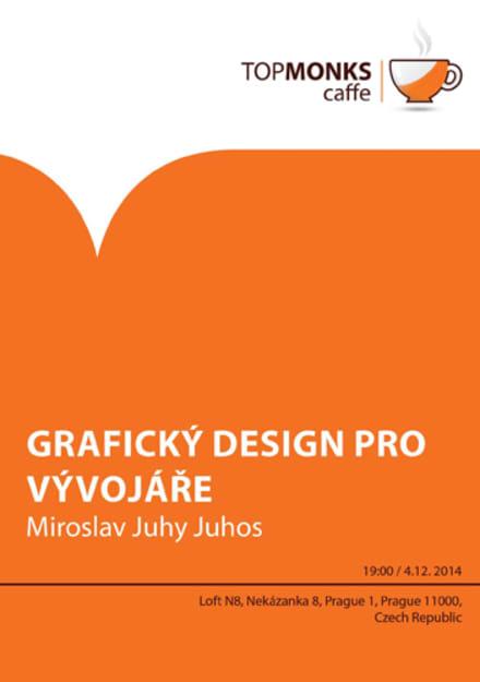 TopMonks Caffè - Grafický design pro vývojáře