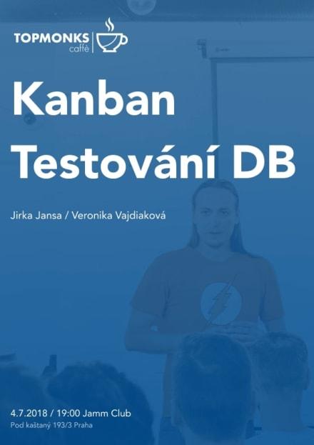 TopMonks Caffè - Kanban a testování DB