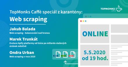 TopMonks Caffè - Web scraping