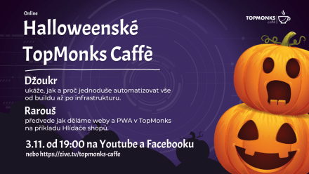 TopMonks Caffè - Halloweenské TopMonks Caffè