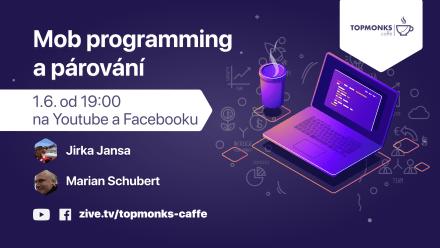 TopMonks Caffè - Mob programming a párování