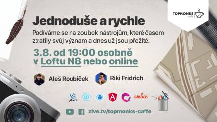 TopMonks Caffè - Jednoduše a rychle