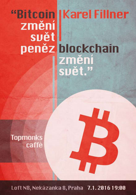 TopMonks Caffè - Bitcoin změní svět peněz, blockchain změní svět