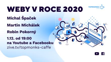 TopMonks Caffè - Weby v roce 2020