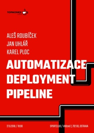 TopMonks Caffè - Automatizace Deployment Pipeline