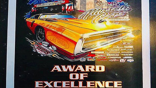 2018 An award of Excellence for our unique Charger 300