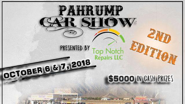 Pahrump Car Show 2018 A Blast not to miss!