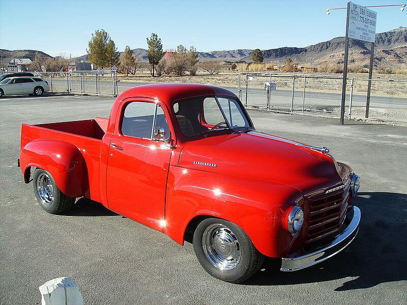 1952 Studebaker 2r6 Truck Custom