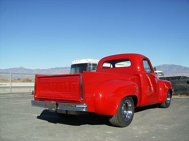 1952 Studebaker 2R6 Pickup Backview