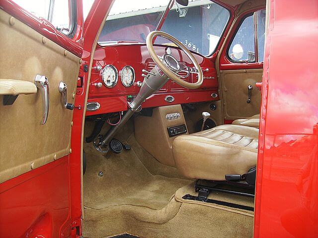 1952 Studebaker 2R6 Pickup Interior customized