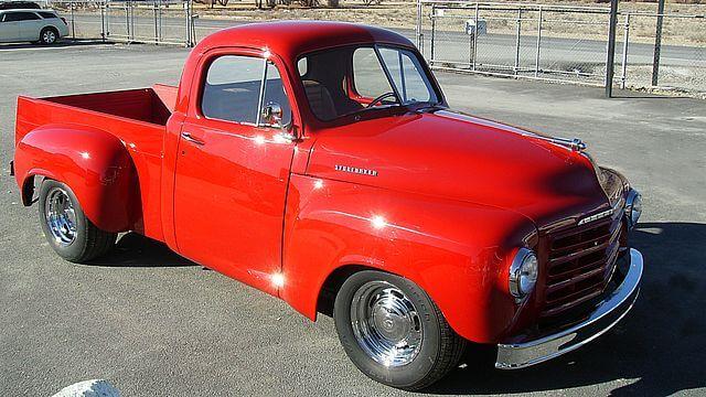 1952 Studebaker 2R6 Pickup Truck Custom