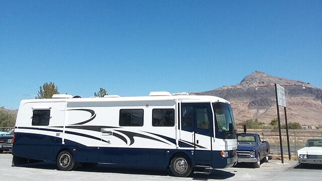 2000 HOLIDAY RAMBLER RV Completely Refinished
