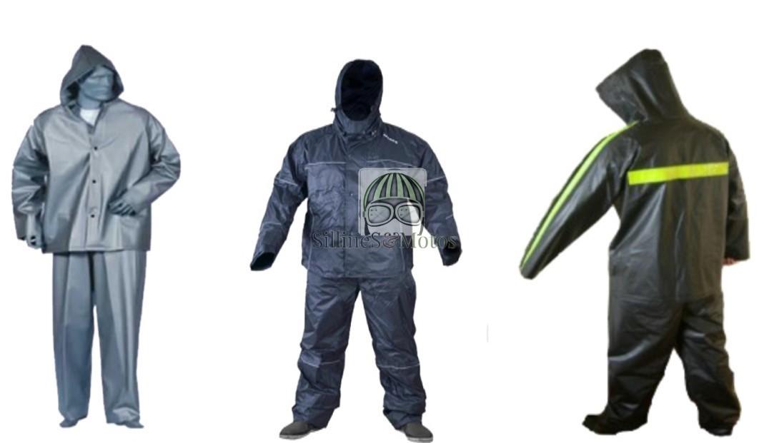 Impermeable completo (chaqueta, pantalón, botas)