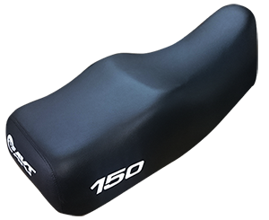 Forro para sillin TIPO ORIGINAL para: AK 150 TT (CORRUGADO)
