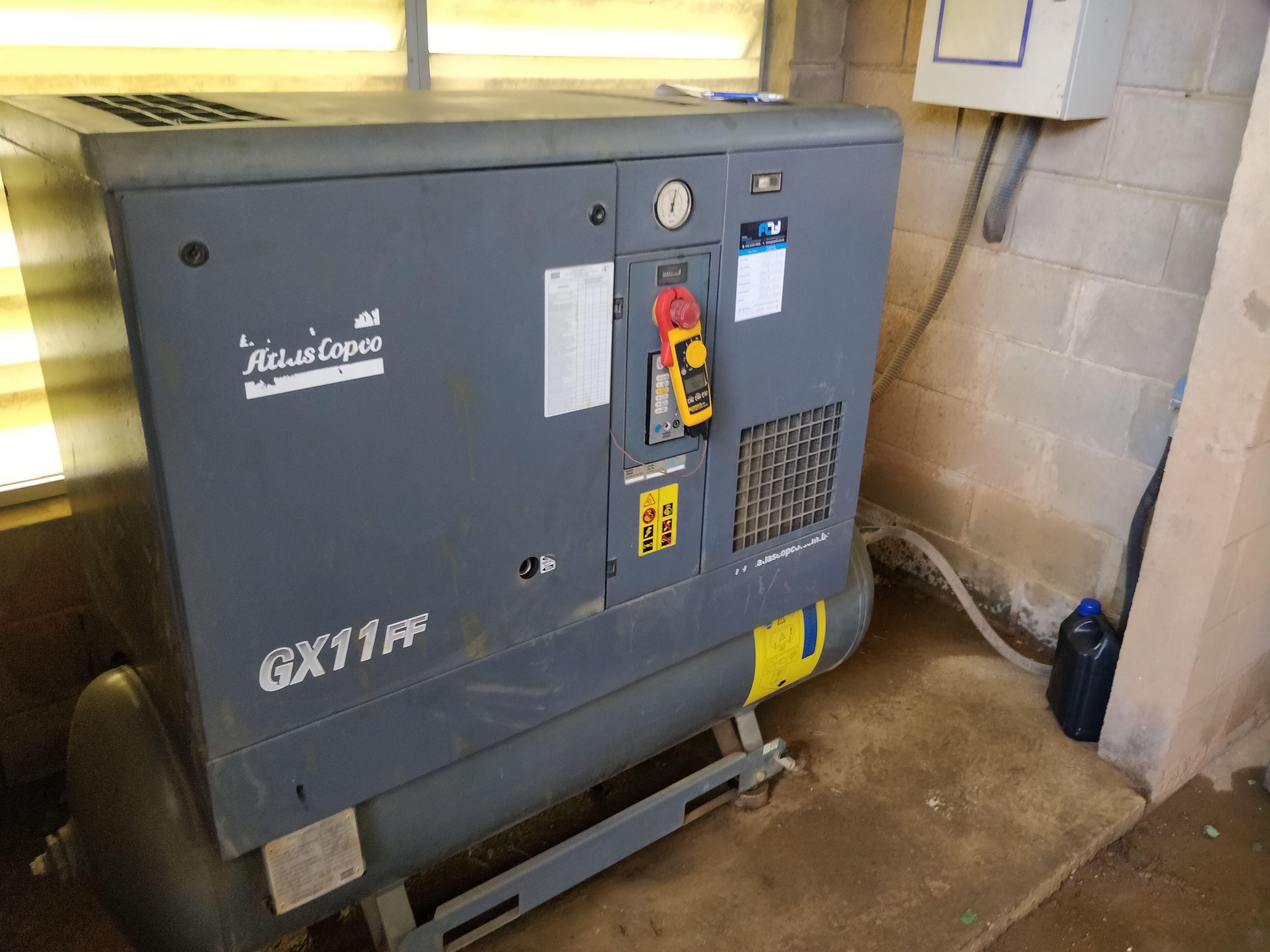 Compressor parafuso GX 11 FF