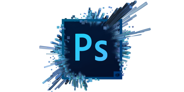 Photoshop Splash Logo