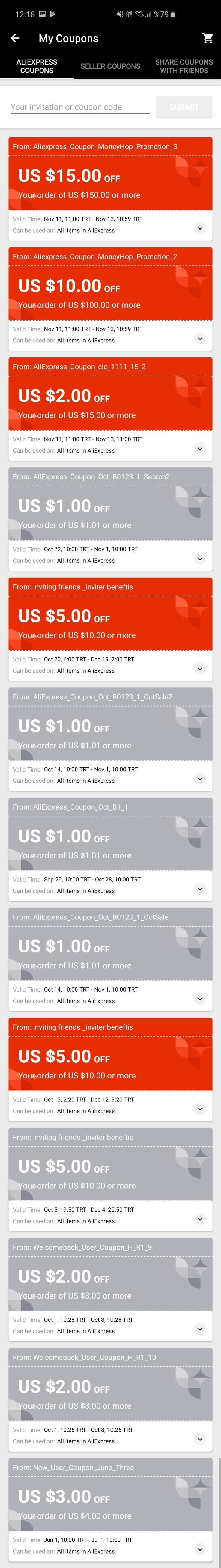 AliExpress Tüm Kuponları Kazan