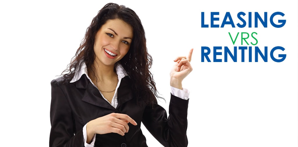 leasing vs renting - Leasing vs. Renting ¿Cuál le conviene a usted?