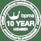BPMA 10 year member