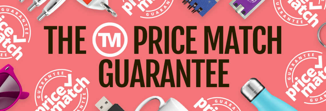 Promotional Products Price Match Guarantee | Total Merchandise