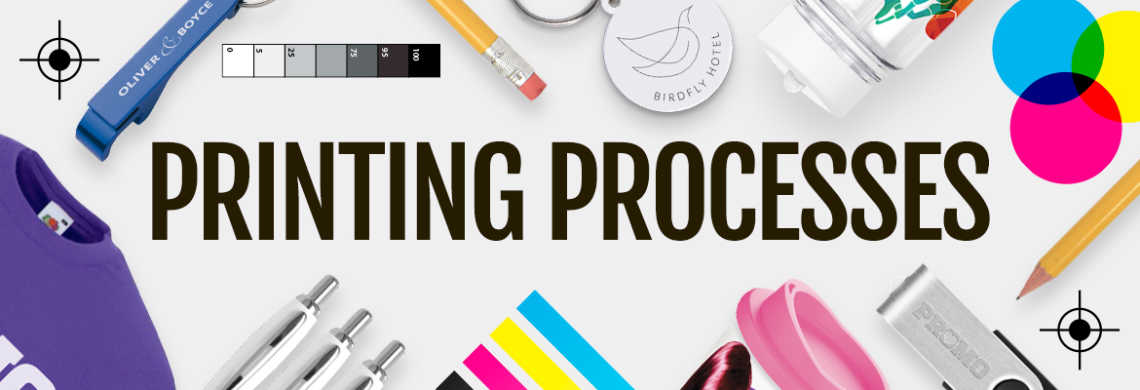Printing Process On Promotional Products | Total Merchandise