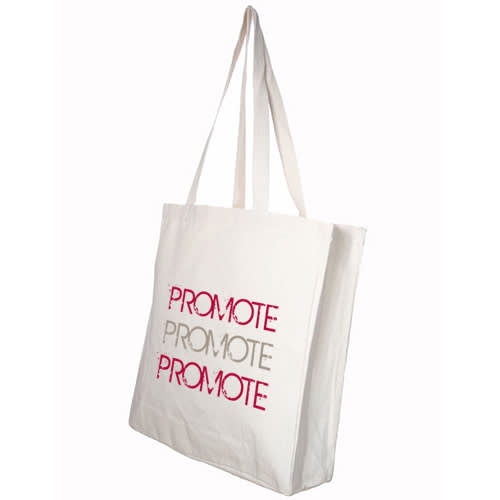 Branded cotton bags for life with your logo from Total Merchandise