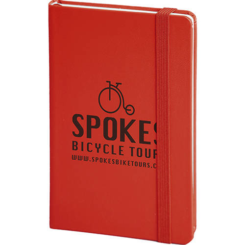 Banbury Soft Feel Pocket Notebooks in Red