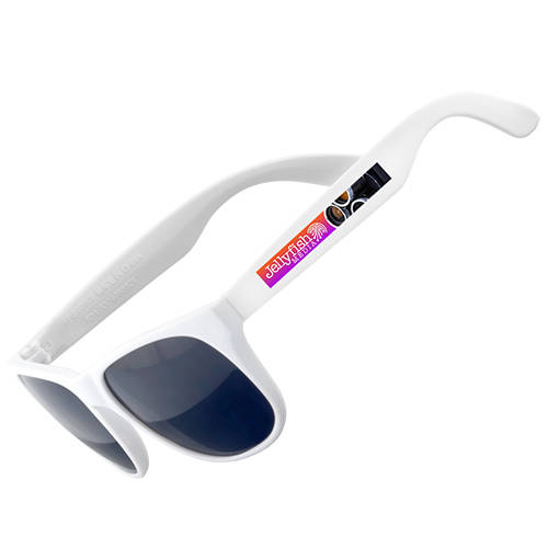 Full Colour Printed Sunglasses in White