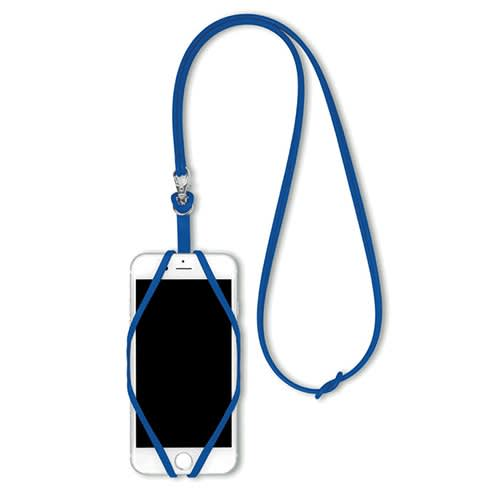 Smartphone Silicone Holder in Blue