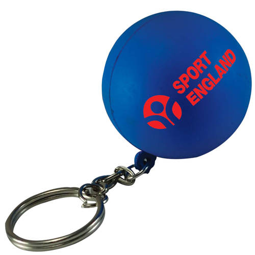 Promotional Stress Ball Keyrings for Campaign Merchandise