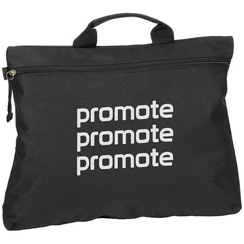 Swale Document Bags in Black
