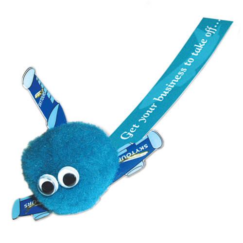 Aeroplane Logobug in Blue