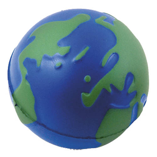 Budget Stress Globe is a great low cost product to advertise your campaign
