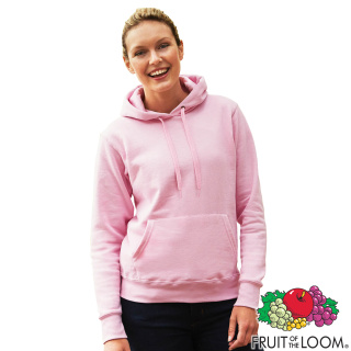 Promotional Fruit of the Loom Ladies Hoodies for Events