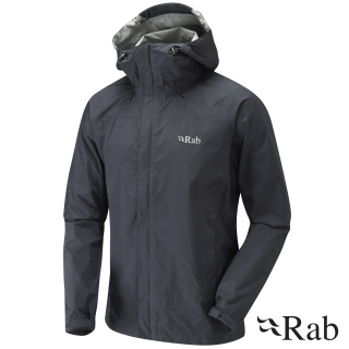 RAB Downpour Waterproof Jackets Printed With Logo