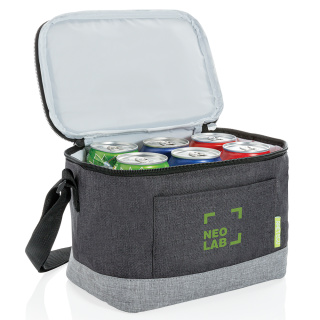 Branded cooler bag made from RPET