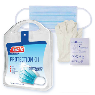 Custom Branded MyKit Protection Kit with Face Mask
