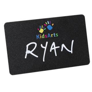 Branded Blackboard Reusable Name Badges