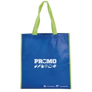 Custom Printed RPET Bag with Gusset