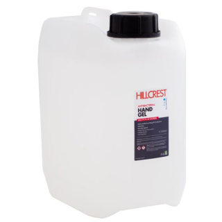 5 Litre Jerry Cans of 70% Alcohol Hand Sanitiser Gel For UK Businesses from Total Merchandise