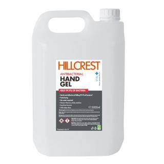 5 Litre Tubs of 70% Alcohol Hand Sanitiser Gel For UK Businesses from Total Merchandise