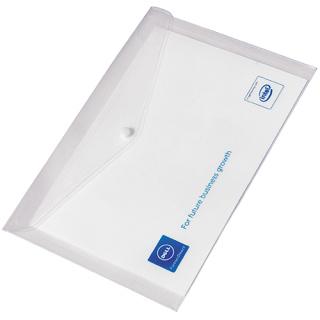 Promotional A4 Polypropylene Popper Wallets for office